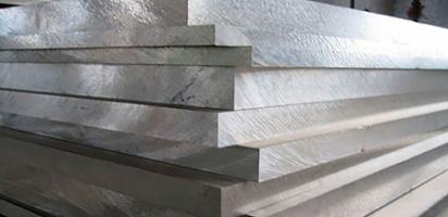 Алюминиевая плита АМГ2 85 мм
