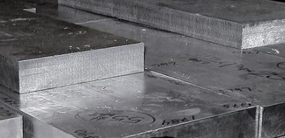 Титановая плита ВТ1-0 500х800 мм, толщина 25 мм