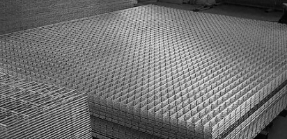 Сетка сварная нержавеющая размер яейки 40х40 мм, толшина 4 мм
