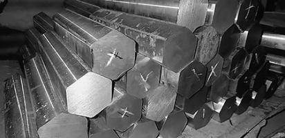Шестигранник горячекатаный из нержавеющей стали 40Х13 размер 13 мм