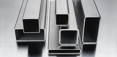 Нержавеющая профильная труба AISI 430 шлифованная, размер 30х30 мм, толщина 1,5 мм